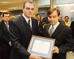 Gustavo Ick junto a José María Cantos (h)
